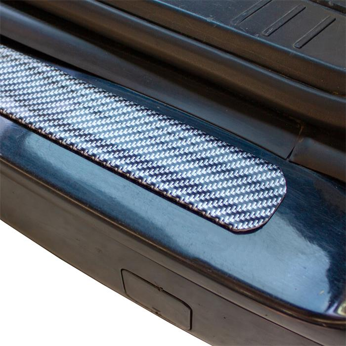 Auto Carbon Schutzleiste Kantenschutz Einstiegsleiste 3D-Effekt Gummi 5cm x 3m