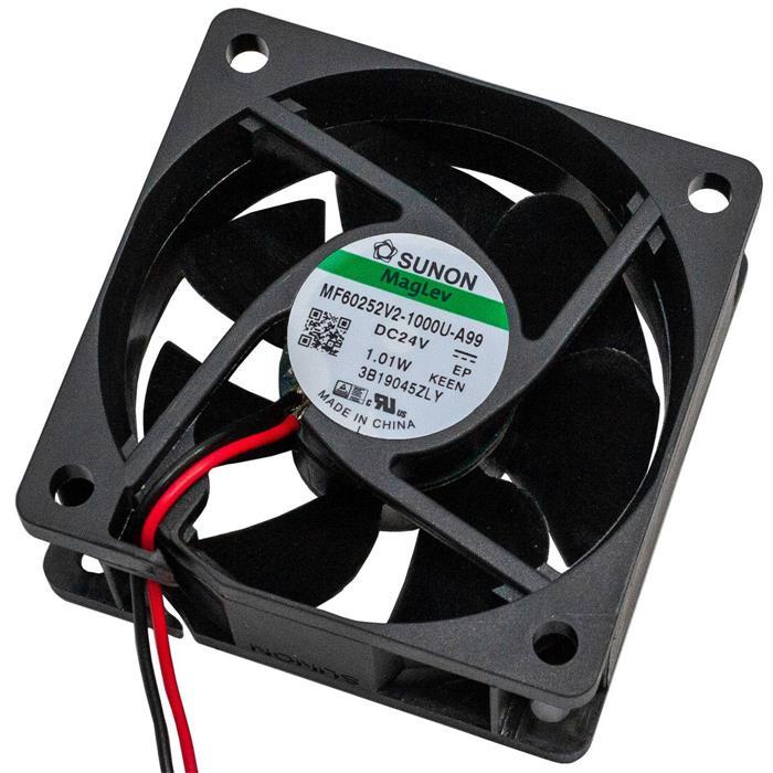 Ventilator Fan 24V 0,72W 60x60x25mm 32,8m³/h 22dBA ; Sunon MF60252V21000UA99