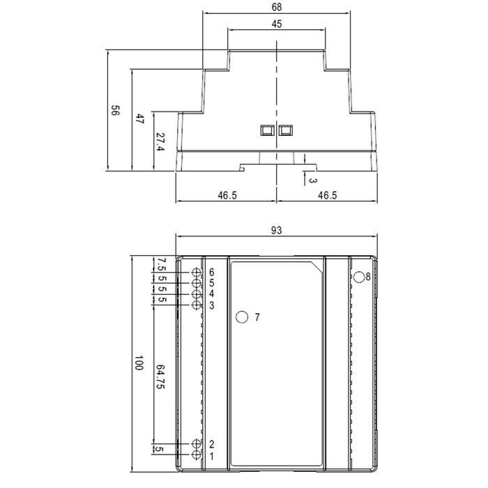 MeanWell DR-100-15 97,5W 15V 6,5A Hutschienen Netzteil DIN-RAIL