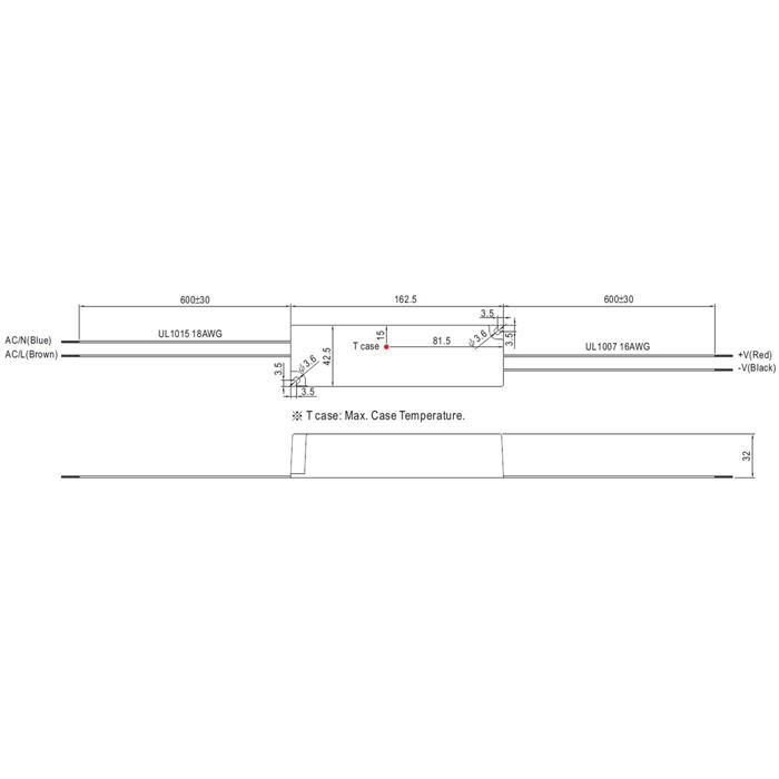 LPV-60-36 60W 36V 1,67A LED Netzteil IP67