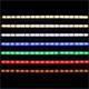 LED Streifen 30cm ; 12V Wasserfest IP65 18LEDs
