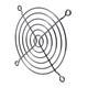 Lüftergitter 92x92mm für Axiallüfter 2x92x20mm 92x92x25mm