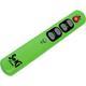 Universal Fernbedienung SeKi Slim Grün Lernfähig für Senioren + Kinder