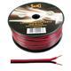 100m Lautsprecherkabel 2x 0,5mm² Rot Schwarz Audiokabel Boxenkabel