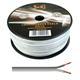 100m Lautsprecherkabel 2x 0,5mm² Weiß Audiokabel Boxenkabel