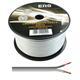 100m Lautsprecherkabel 2x 0,75mm² Weiß Audiokabel Boxenkabel