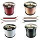 Lautsprecherkabel 100m - 2x1,5mm² - 100% CCA Kupfer ; Audiokabel