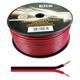 100m Lautsprecherkabel 2x 2,5mm² Rot Schwarz Audiokabel Boxenkabel