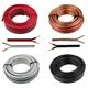 Lautsprecherkabel 10m - 2x1,5mm² - 100% CCA Kupfer ; Audiokabel