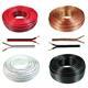 Lautsprecherkabel 25m - 2x1,5mm² - 100% CCA Kupfer ; Audiokabel