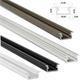 LED Aluminium Profil 1m 16x9mm Einlegeprofil (B) ; Alu Schiene für LED Streifen