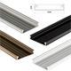 LED Aluminium Profil 1m extra breit 43x9mm (SOLIS) Alu Schiene für LED Streifen