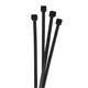 100x Kabelbinder 200 x 2,5mm Schwarz 8,2kg PA6.6 Polyamid Industriequalität