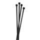 100x Kabelbinder 200 x 4,8mm Schwarz 22,2kg PA6.6 Polyamid Industriequalität