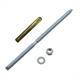 Ankerstange M8 x 190mm + Verbundankerpatrone Schwerlastdübel ; verzinkt